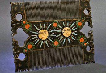 Qajar Comb from Persia