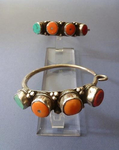 Earrings from Tibet