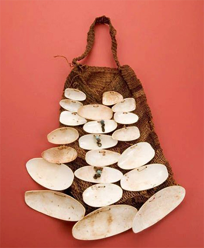 Man's Ceremonial Bag from New Guinea
