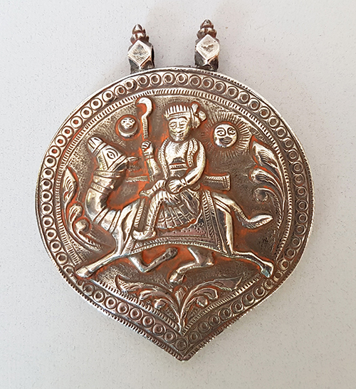 Silver Amulet from India