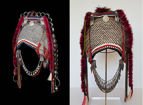 Phami-Akha Headdresses from Thailand