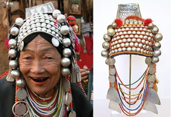 Loimi-Akha Headdresses from Thailand