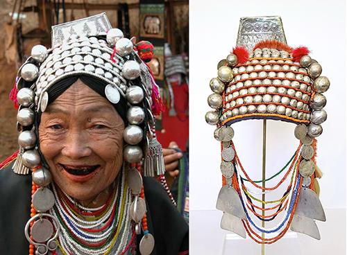 Loimi-Akha Headdresses from Thailand