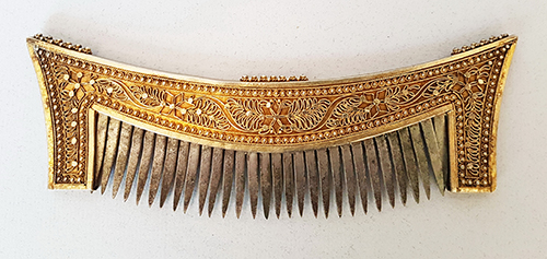 Comb from Minangkabau, Indonesia