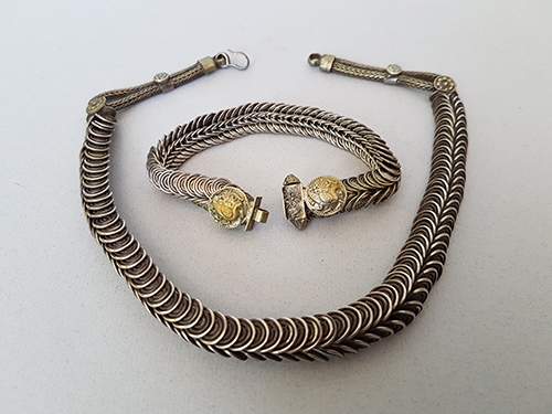 Necklace and Bracelet from India